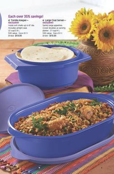 see what's new with Tupperware!
