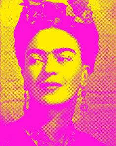 Frida Kahlo art print pop art poster photograph cool poster original pop art Frida Kahlo photo neon modern wall art contemporary home decor Pop Art Posters, Cool Posters, Vintage Posters, Pop Art Portraits, Portrait Art, Frida Kahlo Portraits, Pop Art Decor, Frida And Diego, Mixed Media Artwork
