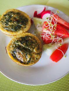 Muffinki szpinakowe | Dom Gosi