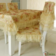 dining table chair covers online cross back chairs uk 60 best cloth images king bedding sets size new arrival tablecloth cover lace cushion