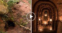 Parece Uma Toca De Coelho Mas Esconde Uma Rede De Caves Secretas Com 700 Anos, Construídas Pelos Templários