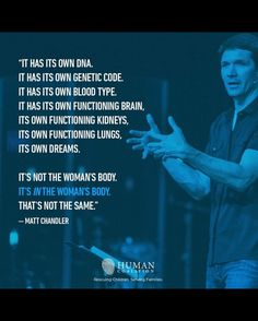 Matt Chandler on Abortion Life Is Precious, Choose Life, Pro Choice, Wise Words, Catholic, Politics, Liberal Feminism, Inspirational Quotes, Motivational