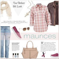A fashion look from August 2015 featuring maurices tops, maurices jackets and H&M jeans. Browse and shop related looks.
