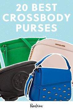A crossbody purse is the go-to style you need in your closet for 2021—here are 20 of our favorites. Large Crossbody Purse, Leather Crossbody, Large Bags, Pebbled Leather, Autumn Fashion, Purses, Closet, Fashion Trends, Accessories