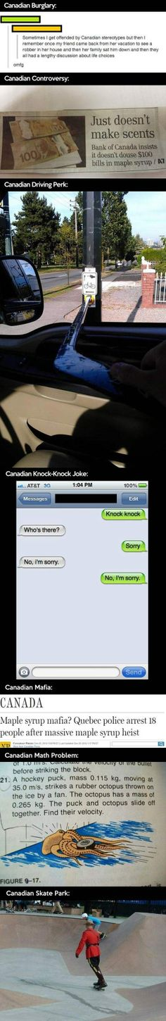 Oh just Canada again // funny pictures - funny photos - funny images - funny pics - funny quotes - #lol #humor #funnypictures