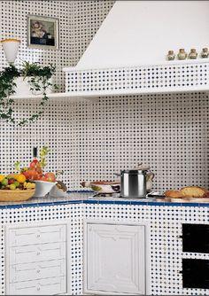 rivestimenti-cucina-cotto-quadrato-interni-ceramica-di-vietri ...