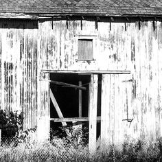 Aged barn #blackandwhite #barns #bkw #grayscale #photography
