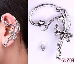 Dragonfly Ear Cuff Earring