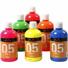 Magazin cu produse si accesorii pentru pictura, grafica, desen si hobby-uri creative, in Bucuresti. Drink Bottles, Water Bottle, Neon, Drinks, Creative, Drinking, Beverages, Water Bottles, Neon Colors