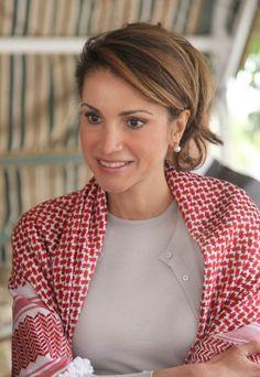 Rania à la tv - L'actualité des royautés .