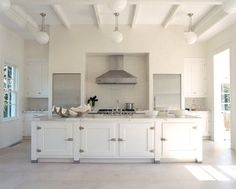 Another dream kitchen! Just perfect! Love the icebox hinges on the cabinetry.