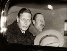 King George VI and his brother, Prince Henry, Duke of Gloucester.