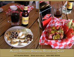 Alamo Springs burgers (made Texas Monthly's best)...a hard place to find in the middle of nowhere, but WORTH IT!