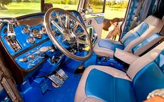 The Hog Ring - Auto Upholstery Community - Custom Big Rig Interior 2