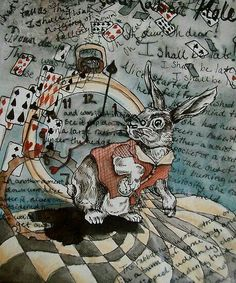 Alice in Wonderland ~ White Rabbit