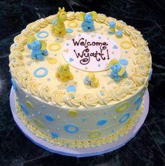 SPECTACULAR BUTTERCREAM ICING BABYSHOWER CAKES | Baby Shower Cake