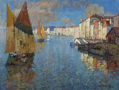 Venetian Fishing Boats  Konstantin Gorbatov
