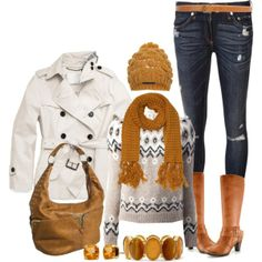 """""""Casual Winter"""" by angela-windsor on Polyvore"""