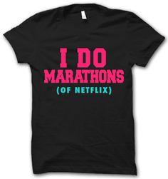 I Do Marathons – Thug Life Shirts