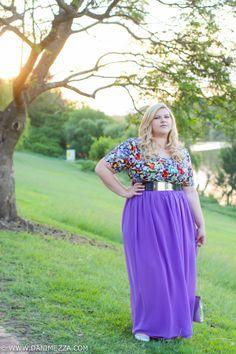 Danimezza Aussie Curves Plus Size Blogger Outfit Challenge