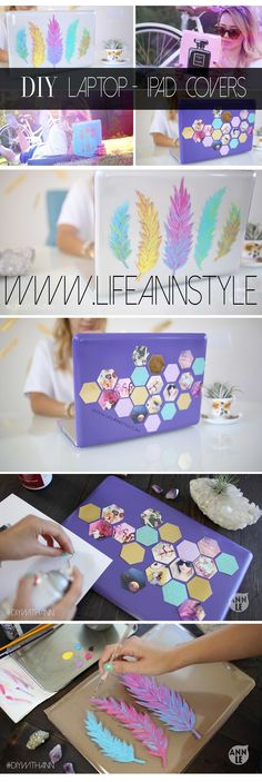 DIY Laptop and iPad Covers | lifestyle  BACK TO SCHOOL #backtoschool