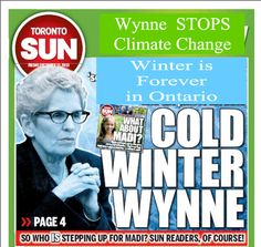 Wynne's End Game for Climate Taxes #onpoli