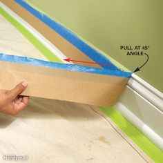 Several things can go wrong when it comes time to remove painter's tape. If you wait too long, the adhesive on the tape will harden and remain stuck to the woodwork. Or if the paint sets but isn't completely dry, some of the wall paint may peel off along with the tape. Here are solutions to some common problems:If you're a procrastinator or slow painter, choose tape that's designed to be left on for several days. Scotch No. 2090 is one brand that uses a slow-hardening adhesive so it can be…