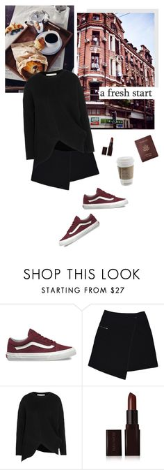 """""""Untitled #2061"""" by katerina-rampota ❤ liked on Polyvore featuring Vans, Tiffany & Co., MARC CAIN, STELLA McCARTNEY, Laura Mercier and Royce Leather"""