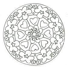 Resultado de imagen para desenhos de mandalas para imprimir e colorir