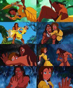 First Impressions -- Tarzan and Jane