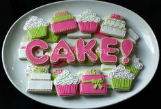 Icings by Ang: birthday Cookies. Just exquisite