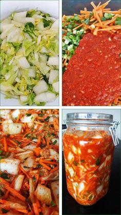 Thai Recipes, Asian Recipes, Healthy Recipes, Kimchi, Korean Food, Chutney, Pickles, Food To Make, Good Food