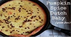 Pumpkin Dutch Baby (grain free)