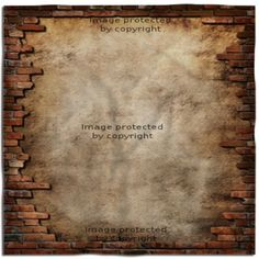 Brick Wall Grunge Fabric, Great for Her or His Headboard!
