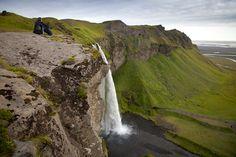 The waterfall Seljalandfoss, one of the most famous waterfalls in Iceland Famous Waterfalls, Iceland Waterfalls, Nature, Travel, Outdoor, Beautiful, Outdoors, Naturaleza, Viajes