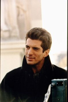 John Kennedy Jr~ son of President John F. Kennedy and his wife Jackie Kennedy