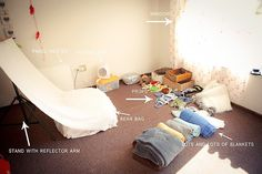 New Born Photography - equipment and set-up | Photographer Mojo