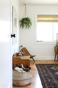 Interior stylist Anna Smith of Annabode + Co. shares the design for her bohemian little boy's room, along with how to get the look yourself! Kid Spaces, Living Spaces, Living Area, Little Boys Rooms, House Tweaking, Yellow Couch, Decor Inspiration, Shabby, Boy Room