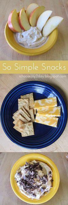 So Simple Snacks: Five Ingredients or Less