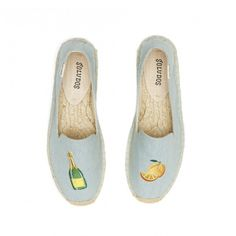 EXCLUSIVE! Mimosa Embroidered Platform Smoking Slipper