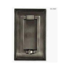 """Brainerd #75313 Beaded Door Knocker Antique Pewter by Brainerd Manufacturing. $19.95. """"BRAINERD"""" DOOR KNOCKER   * Beaded Door Knocker  * Antique Pewter"""