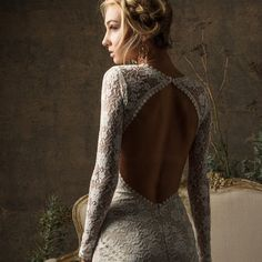 long sleeve lace wed