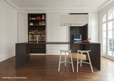 DPAGES – a design publication for lovers of all things cool & beautiful | An Invisible Kitchen by i29 Interior Architects