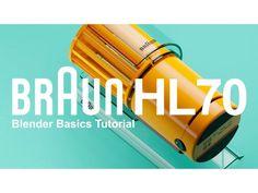Modeling a Braun desk fan in Blender Braun Blender, Blender 3d, Prop Design, Design Model, Braun Dieter Rams, Blender Tutorial, Desk Fan, 3d Tutorial, Fan Blades