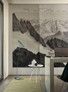Wall & Decò wallpaper from Pure Interiors.