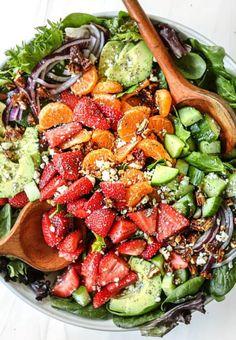 Bacon Pasta Recipes, Corn Salad Recipes, Homemade Tahini, Homemade Hummus, Hummus Recipe Variations, Taco Salad Ingredients, Apple Walnut Salad, Mango Salsa Recipes, Mexican Street Corn Salad