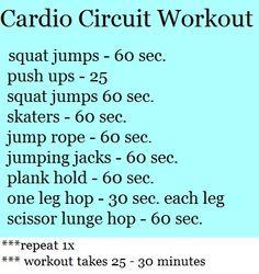 Cardio circuit fitness