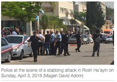 On Sunday there was a terror attack earlier today in Israel in the Rosh Ha'ayin Province near Tel Aviv.