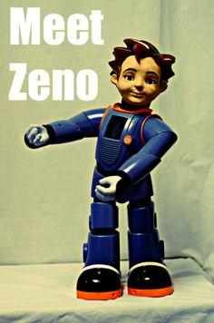 Unique Robot Helps Autistic Students http://www.educationworld.com/a_curr/zeno-robot-autism-therapy-classroom.shtml #ASD #EdTech