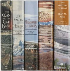 Jean Auel's Earth's Children Series: Clan of the Cave Bear, The Valley of Horses, The Mammoth Hunters, The Plains of Passage, The Shelters of Stone, and the recently released Land of Painted Caves.
